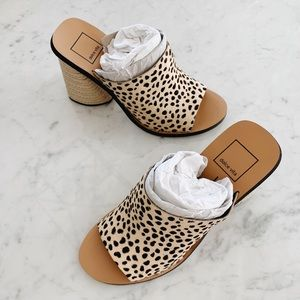 Dolce Vita Alba Heels in the color Leopard